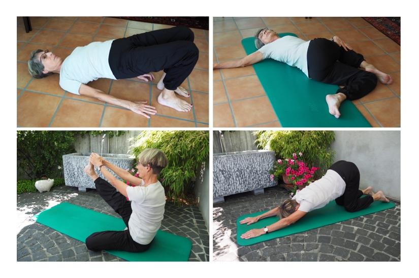 Janet Gymnastik vier Stellungen